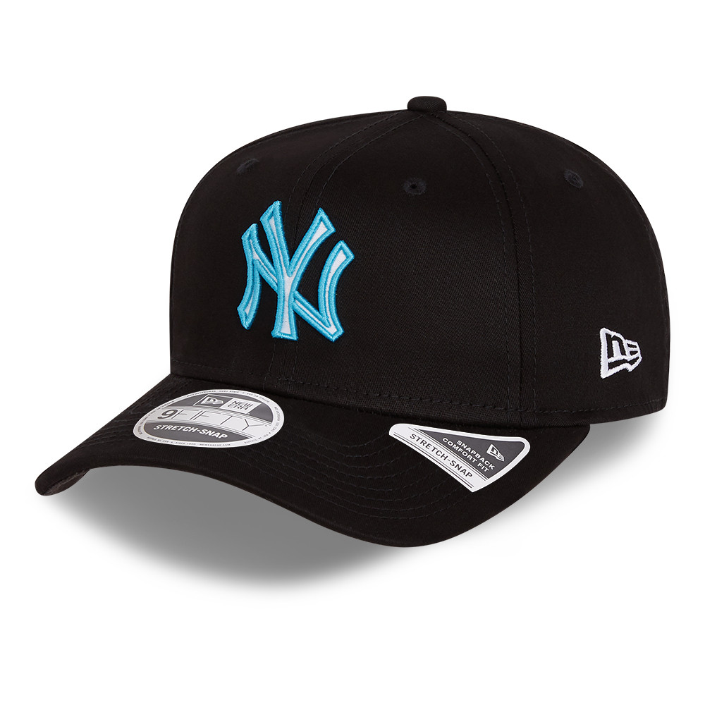 Cappellino 9FIFTY Stretch Snap Neon Pop New York Yankees nero