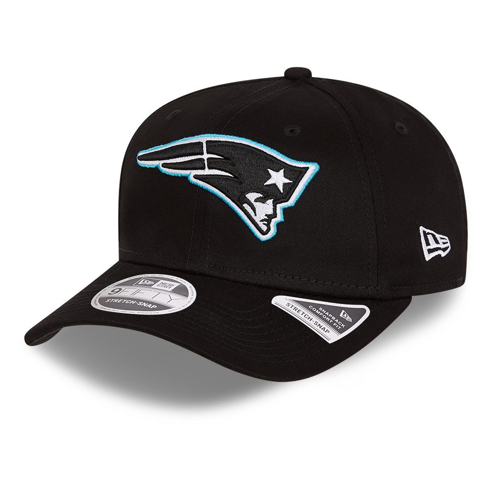 Cappellino 9FIFTY Stretch Snap Neon Pop New England Patriots nero