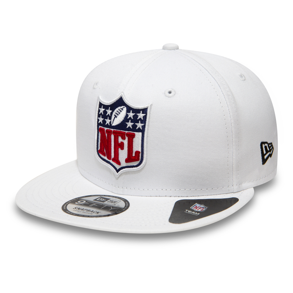NFL Logo 9FIFTY White Snapback