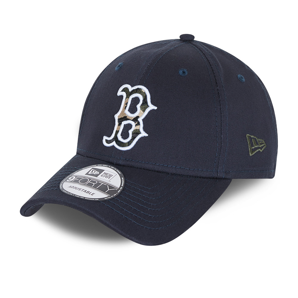Casquette  9FORTY City Camo des Boston Red Sox bleu marine