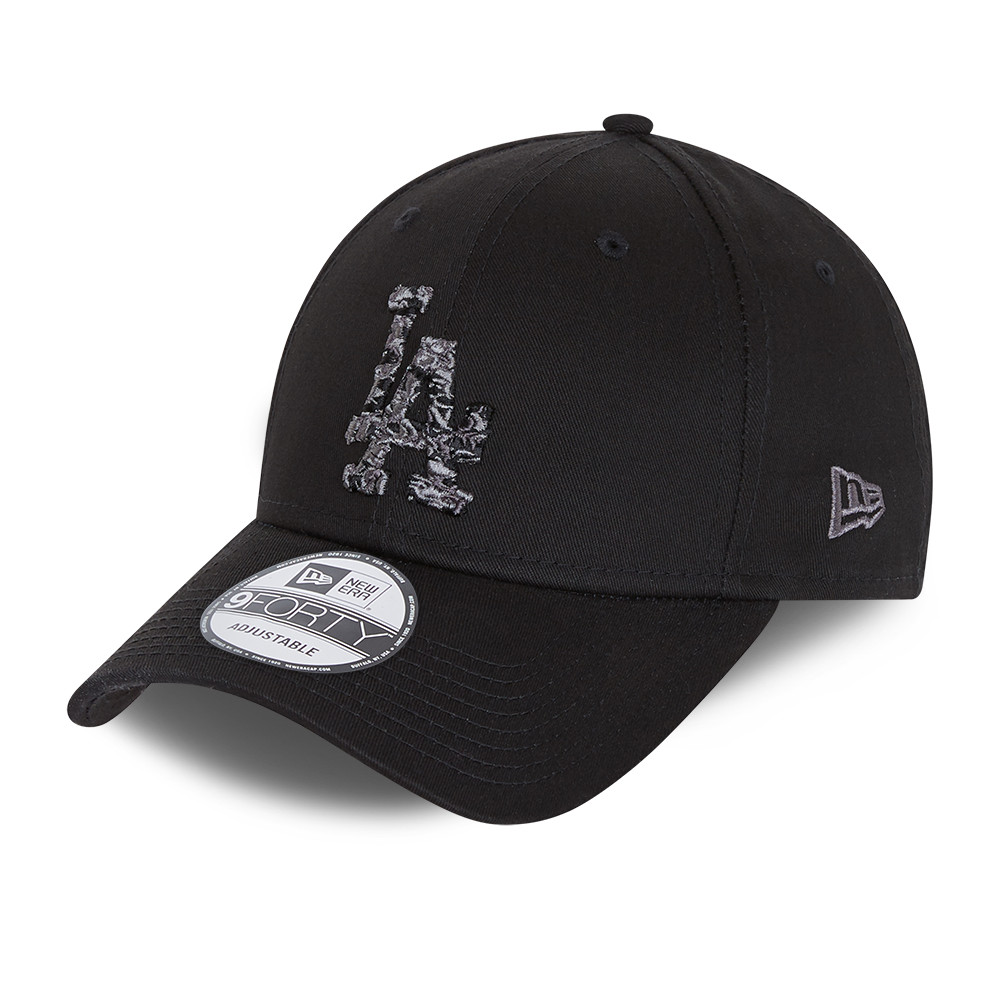 LA Dodgers City Camo Black 9FORTY Cap