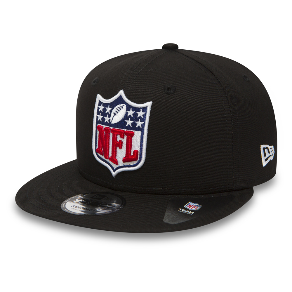 NFL Logo 9FIFTY Black Snapback