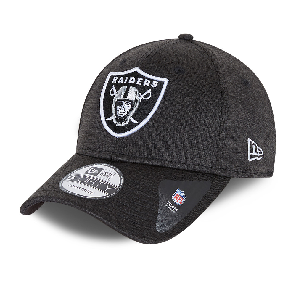 Las Vegas Raiders Shadow Tech Dark Grey 9FORTY Cap
