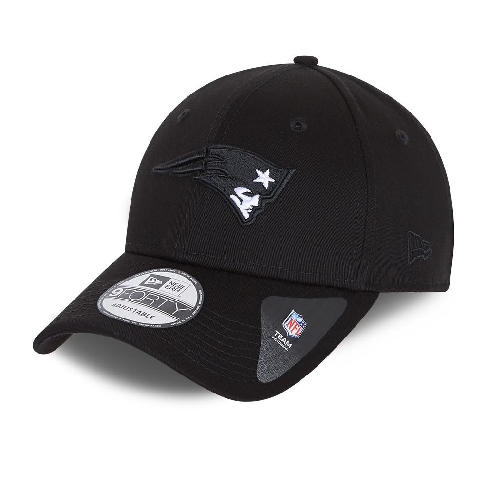 Cappellino 9FORTY con chiusura posteriore New England Patriots nero