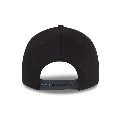 Milwaukee Bucks Black Base 9FORTY Snapback Cap