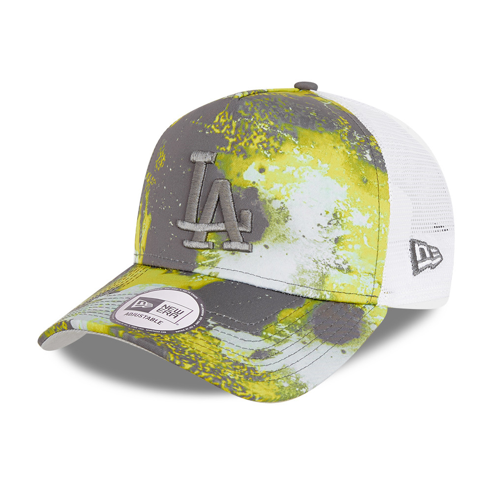LA Dodgers Seasonal Camo A-Frame Trucker Cap