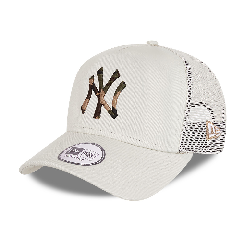 Casquette Trucker New York Yankees City Camo A-Frame pierre