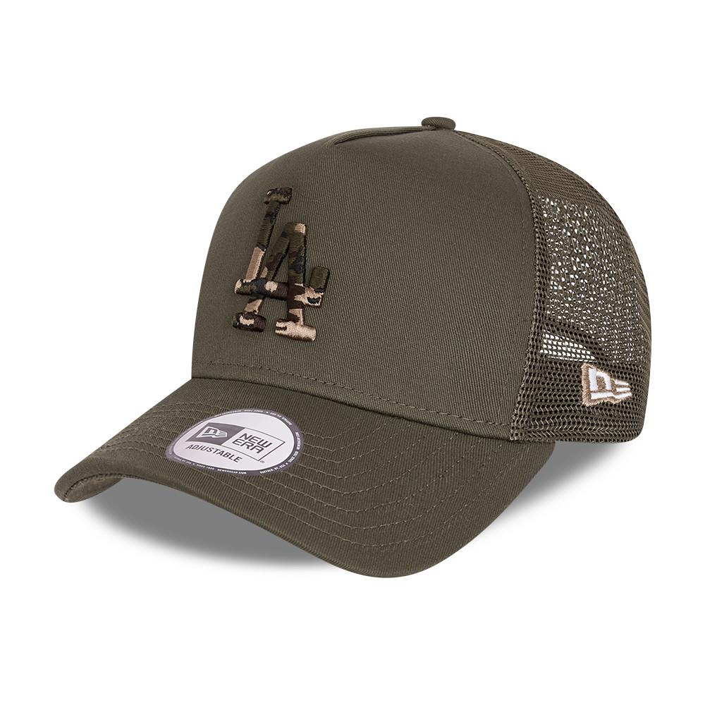 Cappellino A-Frame Trucker City Camo degli LA Dodgers Khaki