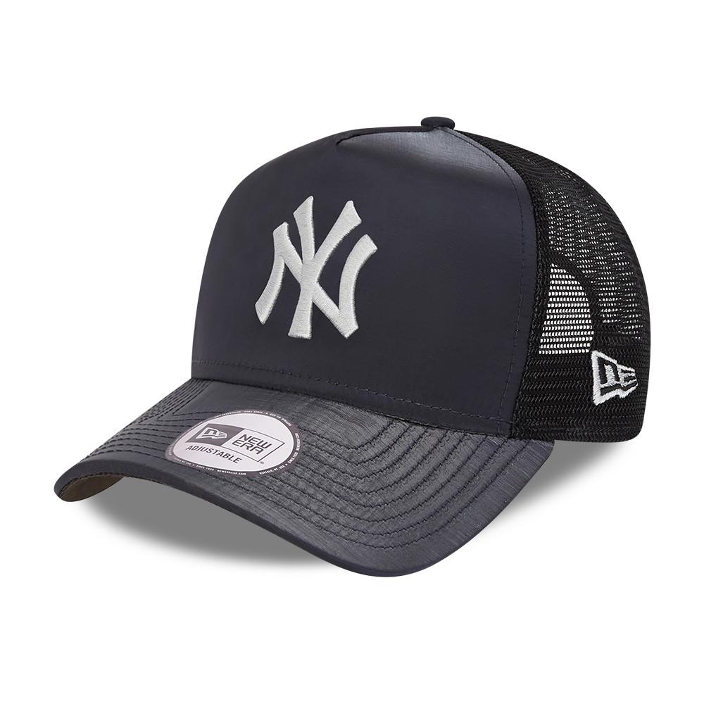 Cappellino A-Frame Trucker Hypertone dei New York Yankees nero