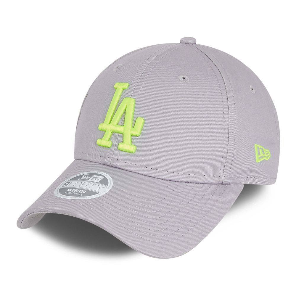 LA Dodgers Essential Womens Grey 9FORTY Cap