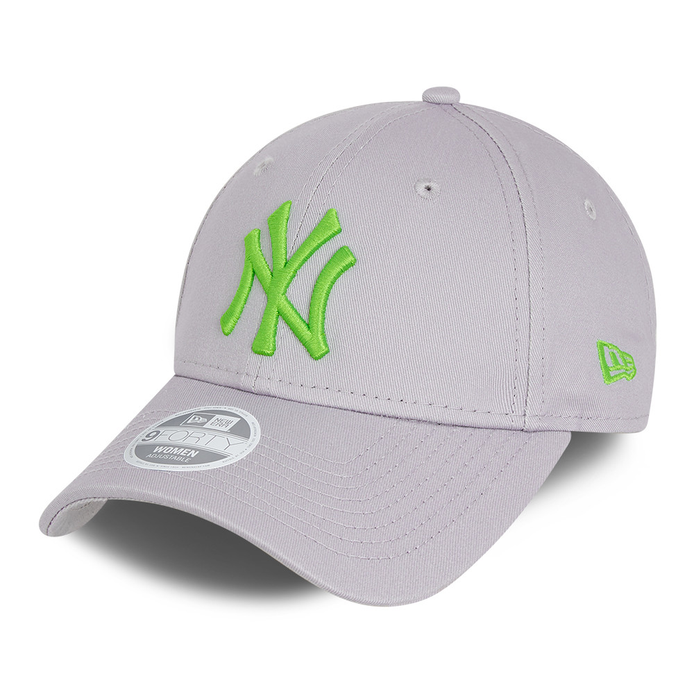 Cappellino 9FORTY Essential New York Yankees donna grigio
