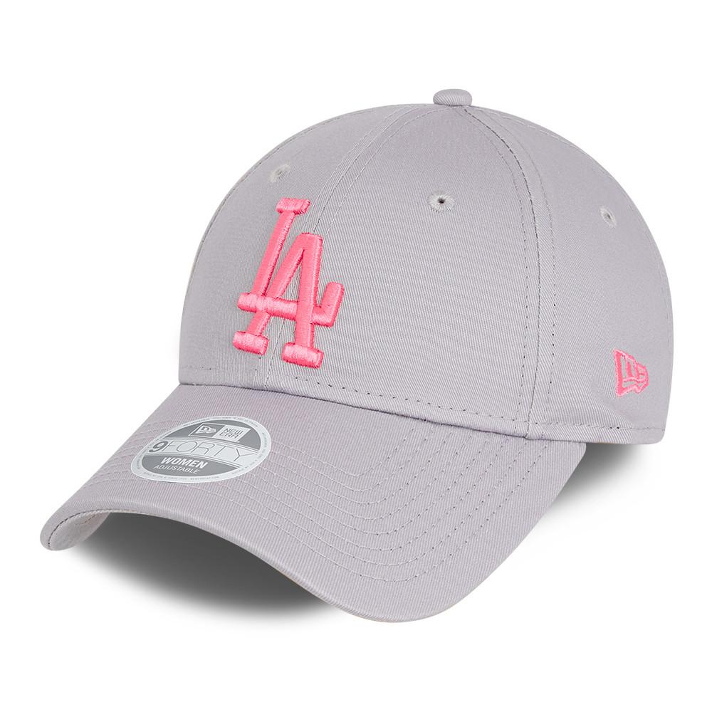 Cappellino 9FORTY Essential LA Dodgers donna grigio