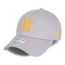 Casquette 9FORTY  Essential des New York Yankees, gris, femme