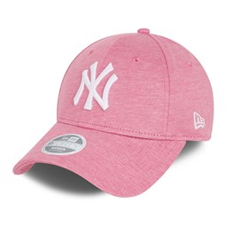 Casquette 9FORTY Essential des New York Yankees, rose, femme