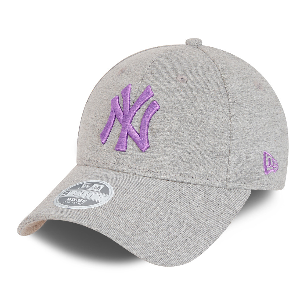 Gorra New York Yankees Essential 9FORTY mujer, gris