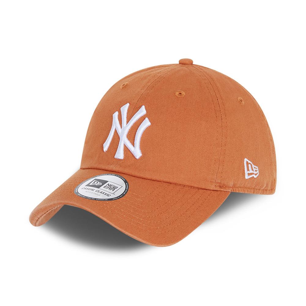 Gorra New York Yankees Casual Classic, marrón