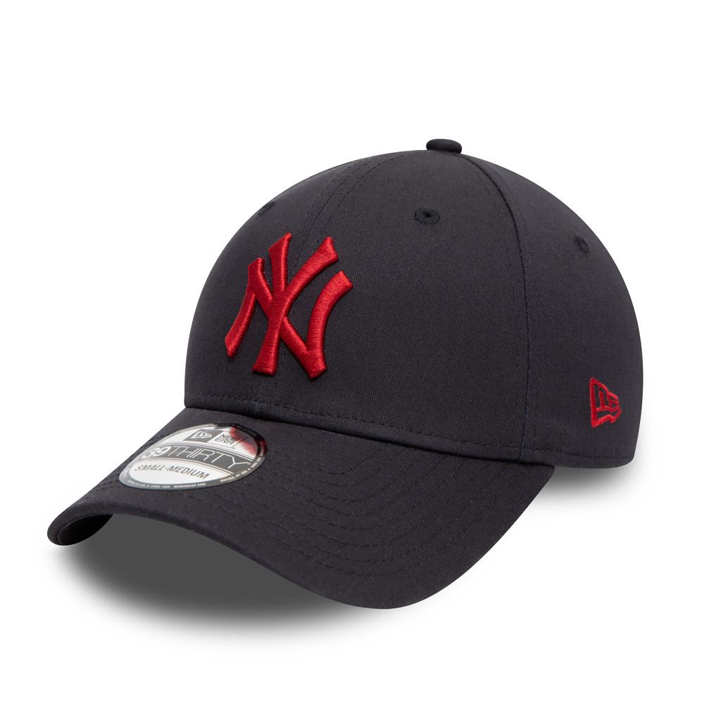 New York Yankees Essential 39THIRTY Kappe in Marineblau