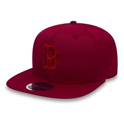 Boston Red Sox Nano Ripstop OF 9FIFTY Cardinal Snapback