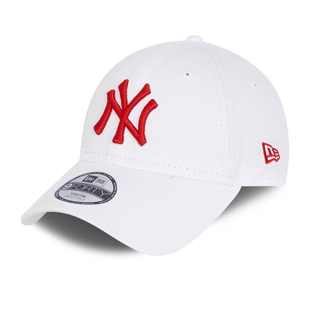 Casquette blanche essentielle 9FORTY New York Yankees pour enfant