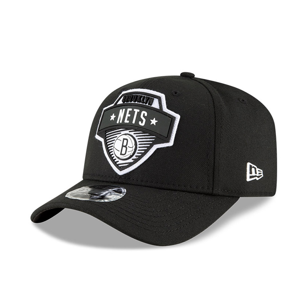 Cappellino Brooklyn Nets NBA Tip Off 9FIFTY Stretch Snap nero