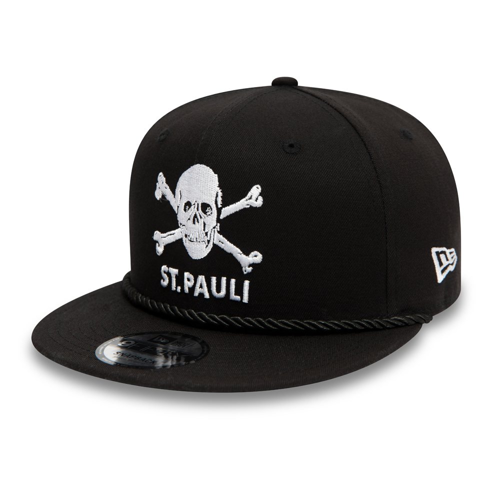 St Pauli FC Skull & Cross Bones Black 9FIFTY Cap