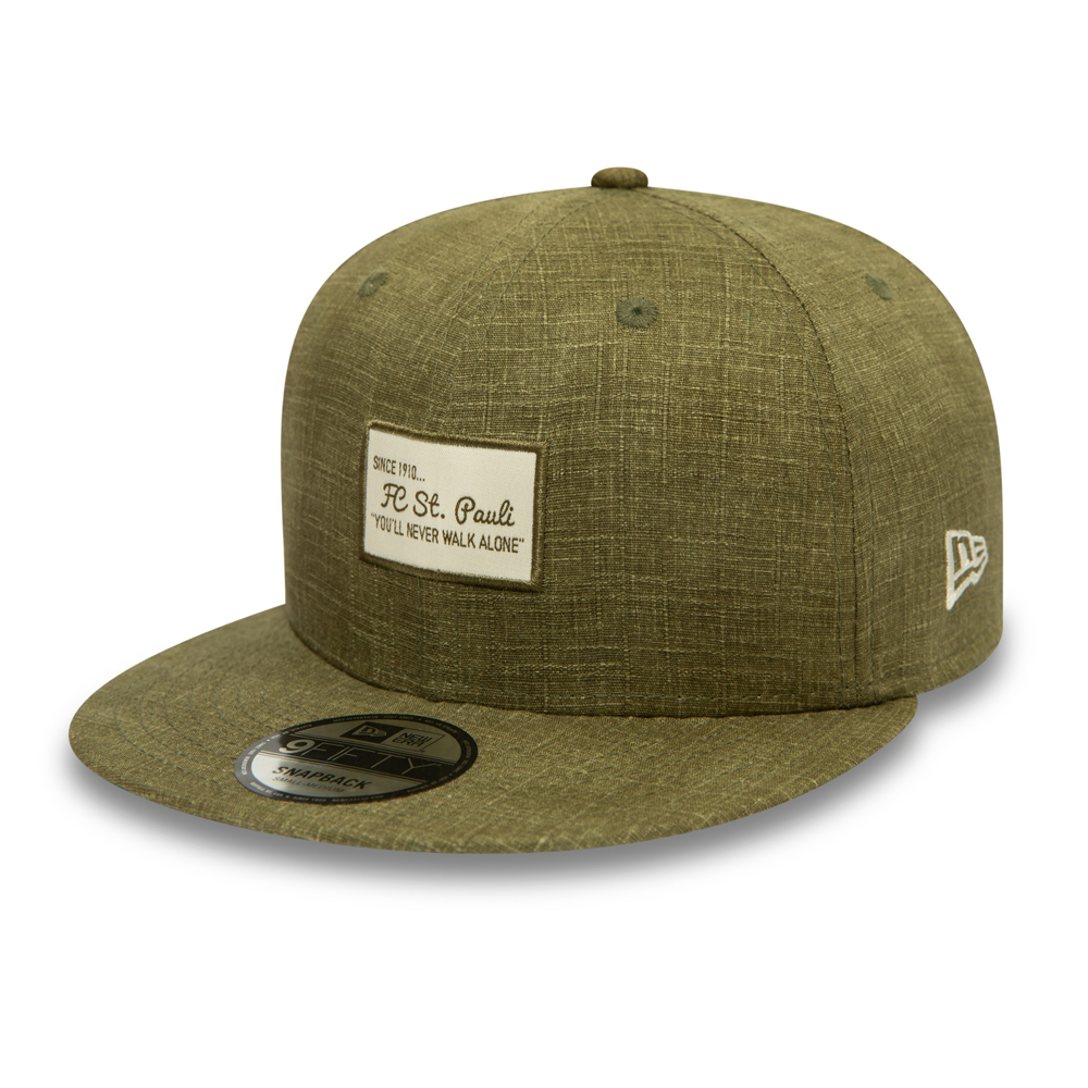 Cappellino 9FIFTY Woven Patch St Pauli FC donna verde