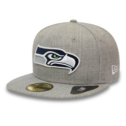 Casquette59FIFTY Seattle Seahawksgris chiné