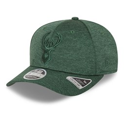 9FIFTY – Milwaukee Bucks – Ton-in-Ton Stretch-Snap-Kappe in Grün