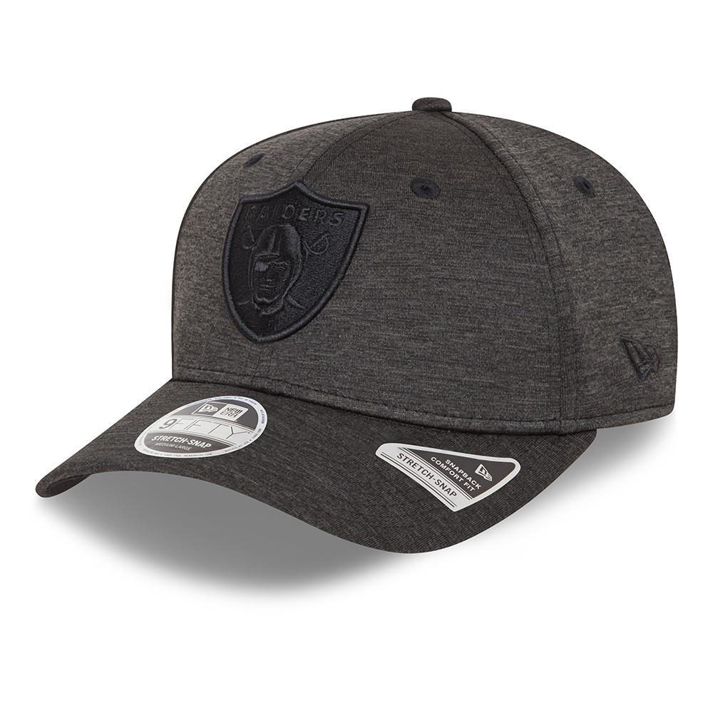 9FIFTY – Las Vegas Raiders – Ton-in-Ton Stretch-Snap-Kappe in Grau