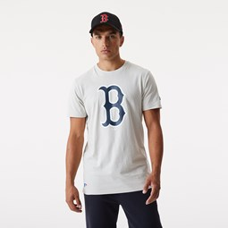 T-shirt avec logo des Boston Red Sox, grège