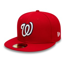 Washington Nationals Authentic On Field Red 59FIFTY Cap