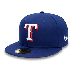 Texas Rangers Authentic On Field Game Blue 59FIFTY Cap