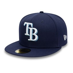Tampa Bay Rays Authentic On Field Navy 59FIFTY Cap