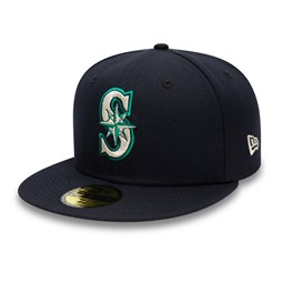 Seattle Mariners Authentic On Field Navy 59FIFTY Cap