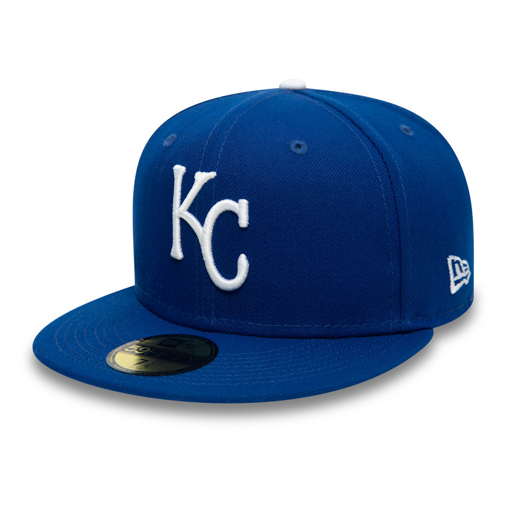 Kansas City Royals AC Perf Blue 59FIFTY Cap