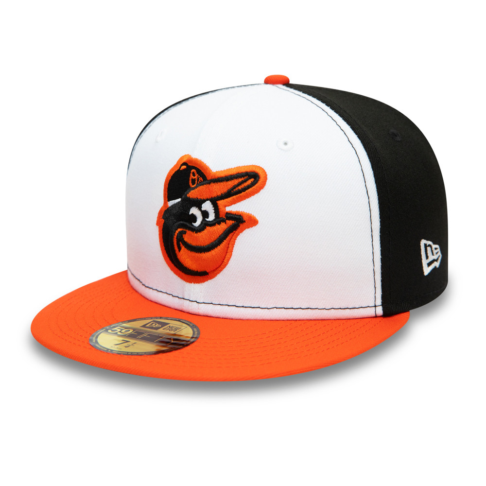 Casquette 59FIFTY Authentic On Field des Orioles de Baltimore, noire