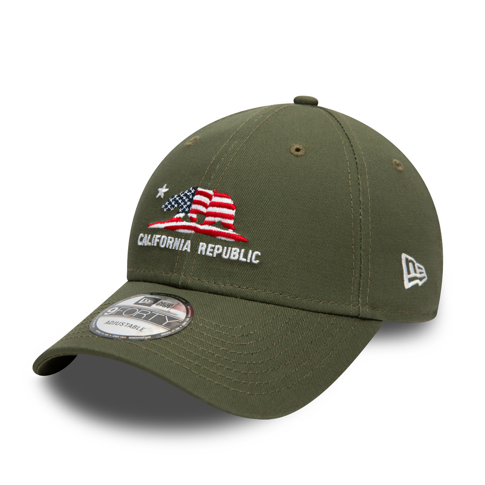 California Republic Khaki 9FORTY Cap
