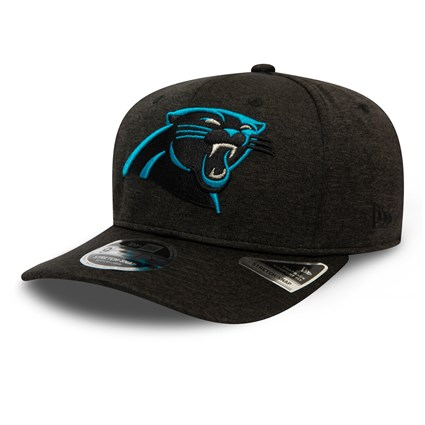 Carolina Panthers Shadow Tech Black 9FIFTY Stretch Snap Cap