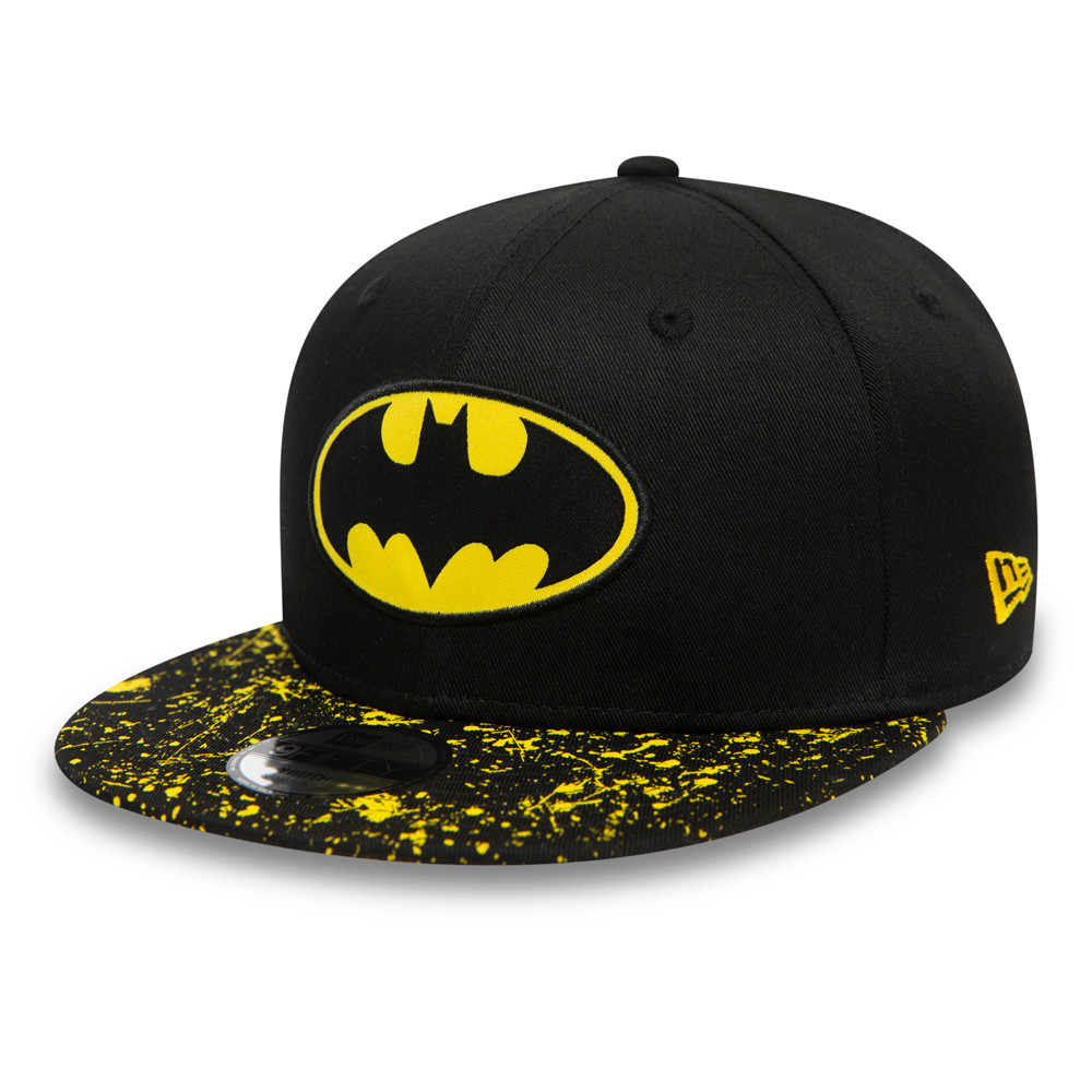 Batman Paint Splat Kids Black 9FIFTY Cap