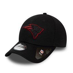 New England Patriots Tonal Black 39THIRTY Cap