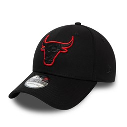 Chicago Bulls Tonal Black 39THIRTY Cap