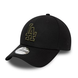 LA Dodgers Tonal Black 39THIRTY Cap