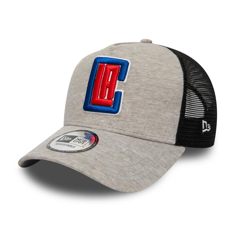 Cappellino Trucker A-Frame Jersey Essential LA Clippers grigio
