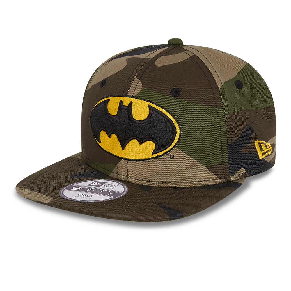 Batman Camo Kids Green 9FIFTY Cap