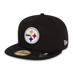 Casquette 59FIFTY Retro Sports desPittsburgh Steelers, noire