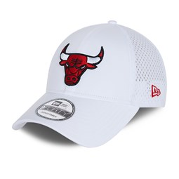 Chicago Bulls Team Arch White 9FORTY Cap