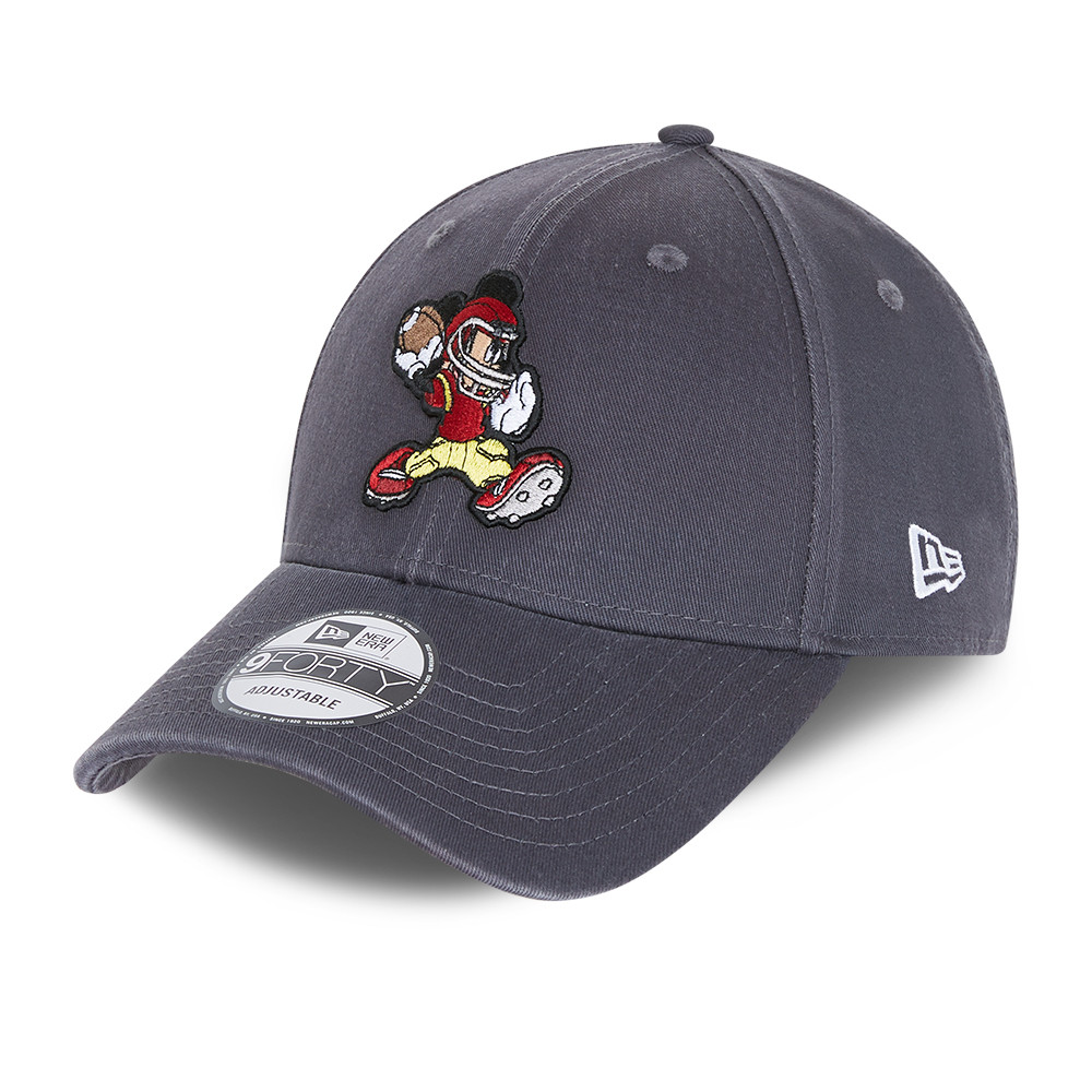Micky Mouse Disney Character Sports Grey 9FORTY Cap