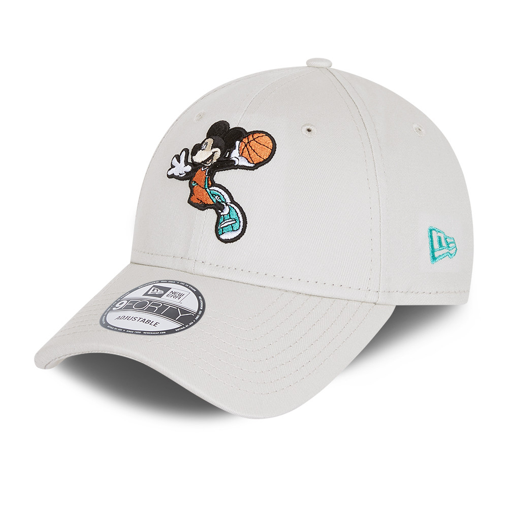 Micky Mouse Disney Character Sports Beige 9FORTY Cap
