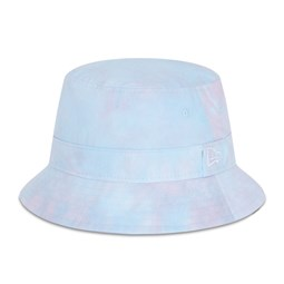 New Era Tie Dye Womens Pink Bucket Hat