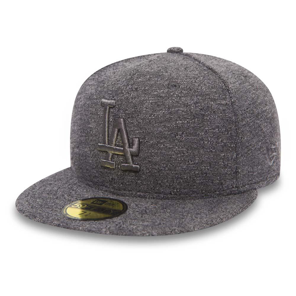 Los Angeles Dodgers Jersey Slub Grey on Grey 59FIFTY